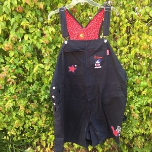 Jerry Leigh Vtg Mickey Mouse Overall|Size 26w/28w